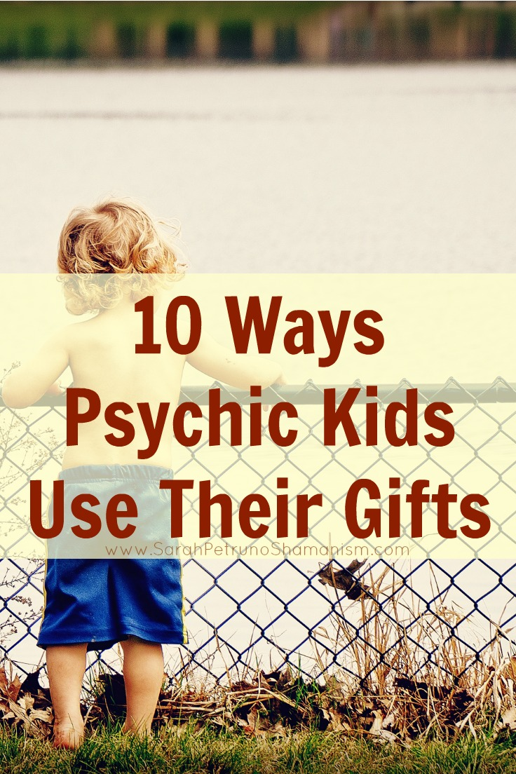 It's not all spooks and ghosts - psychic gifts have their benefits and psychic kids can be pretty intuitive and use their gifts in unconventional ways.