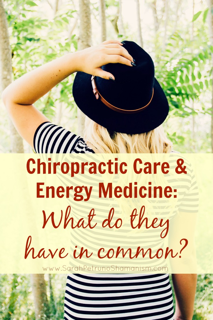 Chiropractic care and energy medicine are more alike than they are different - discover the similiarities and find the value in both