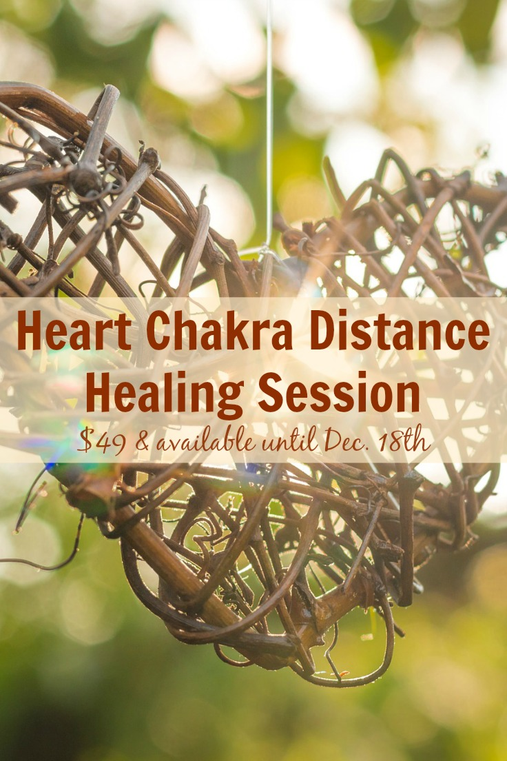 Heart Chakra Distance Healing Session - $49