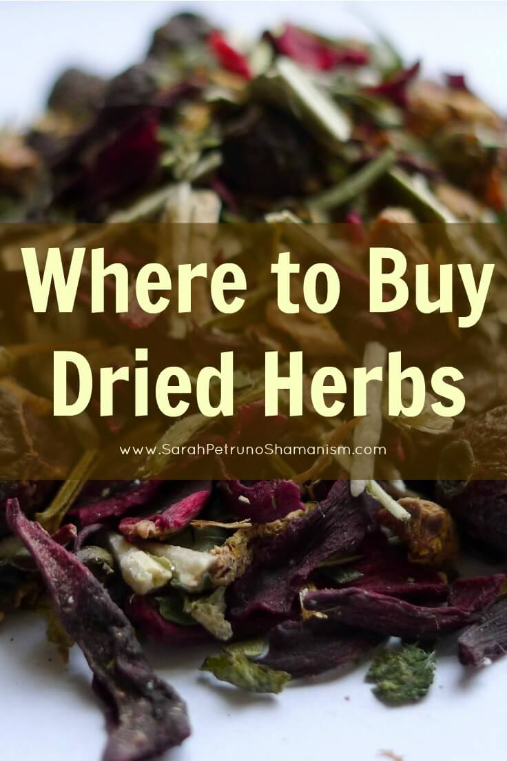 5 places you can purchase dried, loose herbs online and locally.
