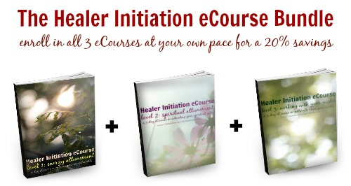 The Healer Initiation eCourse Bundle - enroll in all 3 courses at your own pace and save 20%