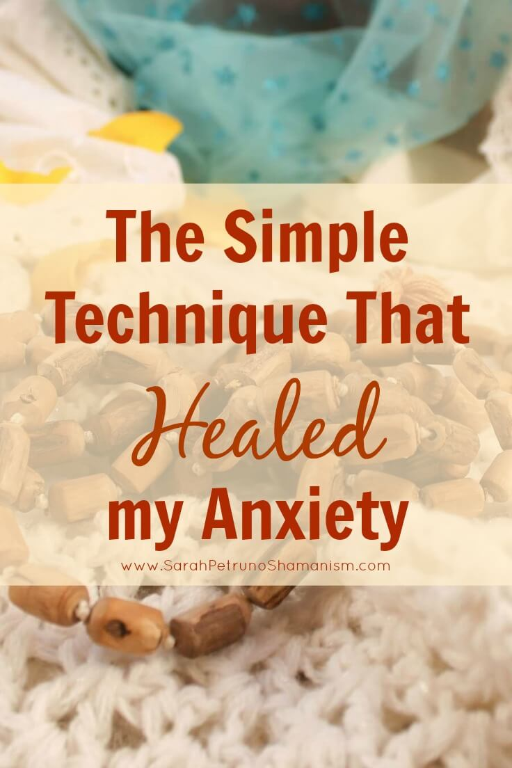 Easy to do and fast - technique for healing anxiety and erasing anxious thoughts.
