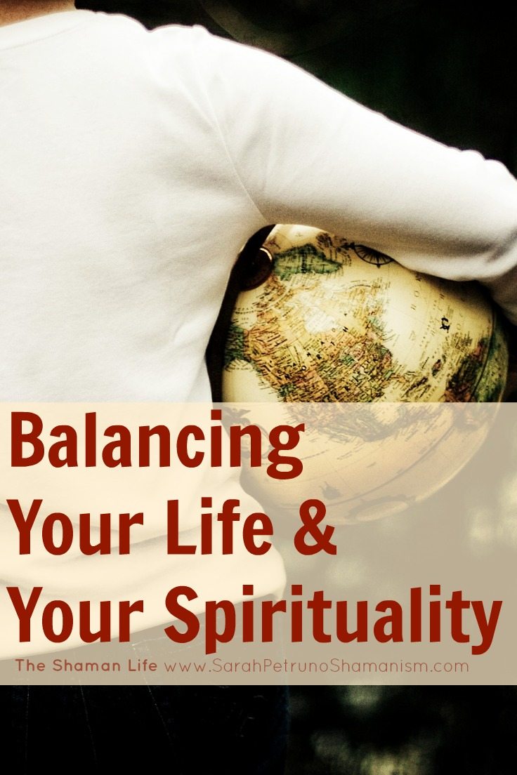 Balancing Your Life & Your Spirituality eBook - tools for developing a  spiritual practice and life, while also maintaining balance in your current life. FREE!