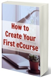 Everything you need to know to create your first eCourse - including how to find a topic, what software to use, and how to set it up. Learn how to create an eCourse from start to finish.