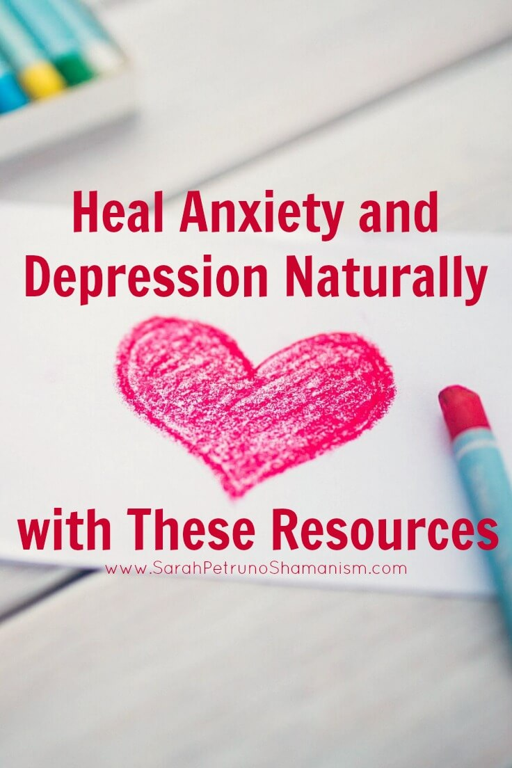 A list of resources available on my blog and elsewhere for understanding anxiety, depression, and mood disorders from a spiritual perspective, and methods to heal it free from medication.