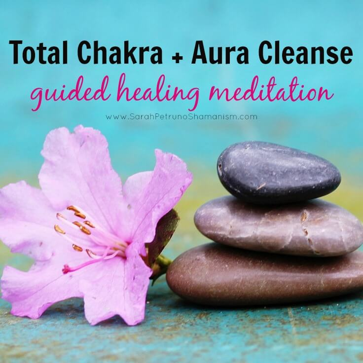 Total Chakra & Aura Cleanse Guided Healing Meditation with Sarah Petruno, Shamana