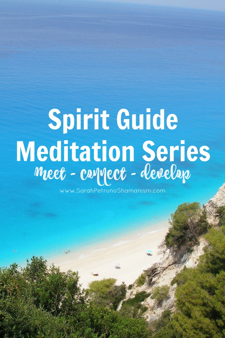 NEW meditation series for meeting, connecting, and becoming a divine channel for receiving information from your spirit guides.