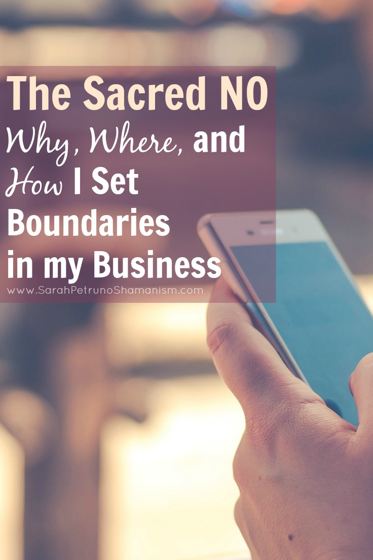 Setting boundaries in my business has been integral for my self-health, both physical and mental. After identifying my biggest problem areas, this is where I chose to draw the line.