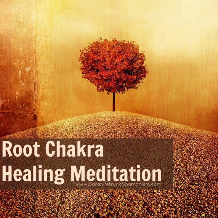 Shamanic healing for the root chakra - use this meditation to walk through the process of energetically and spiritually healing your root chakra.