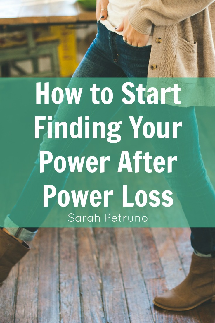 Part 2 of 5 - Finding your power where it was once lost, an exercise in self-healing