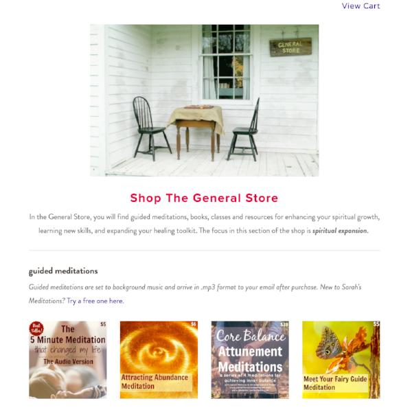 Sarah Petruno Shamanism General Store