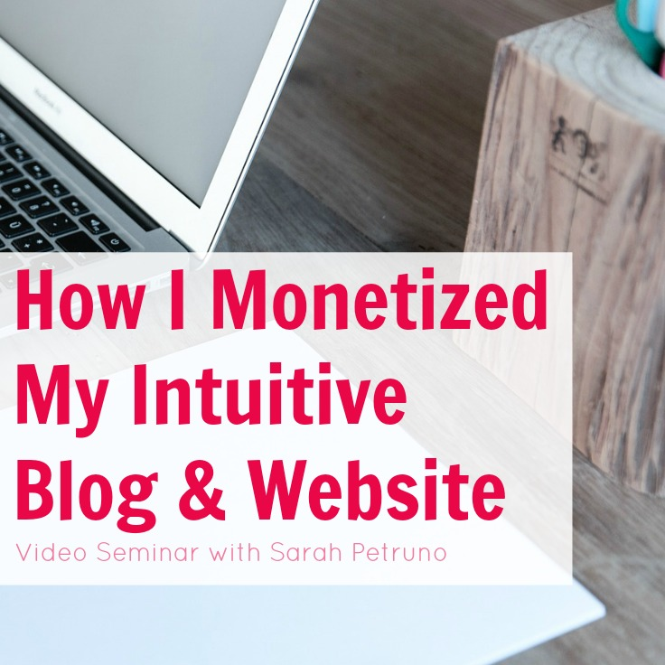 How I Monetized My Intuitive Blog
