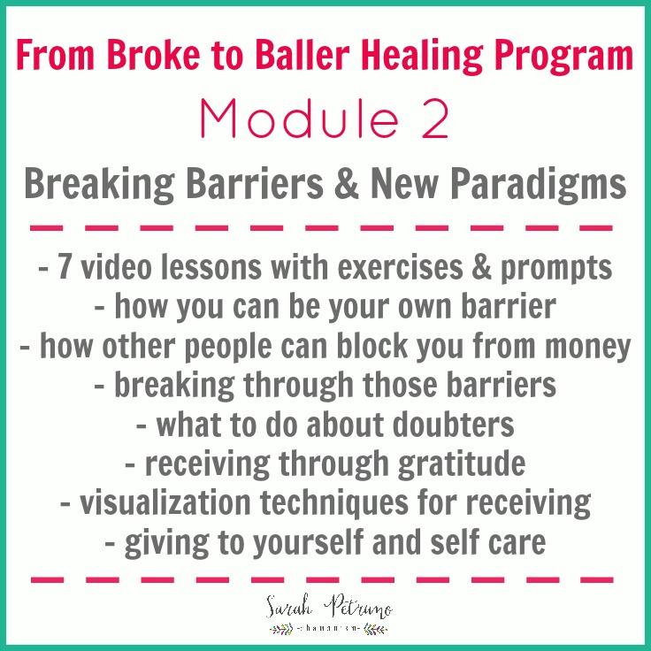 From Broke to Baller Healing Program Module 2