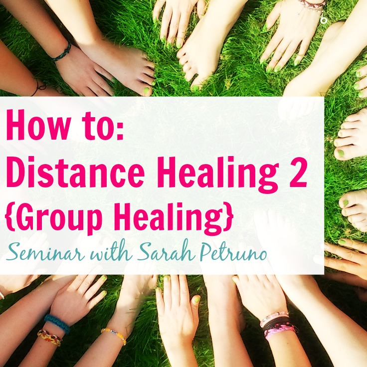 Learn how to perform a distance GROUP healing in this live teleseminar with Shaman Sarah Petruno