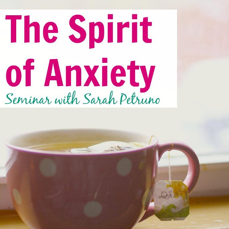 The Spirit of Anxiety Teleseminar with Sarah Petruno, Shamana