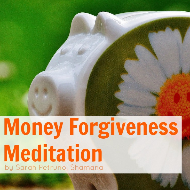 Guided meditation to help heal the heart and energy of past money mistakes, through forgiveness and energy work.