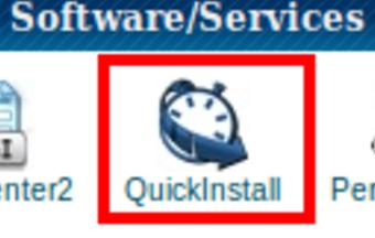 cPanel Quick Install Icon