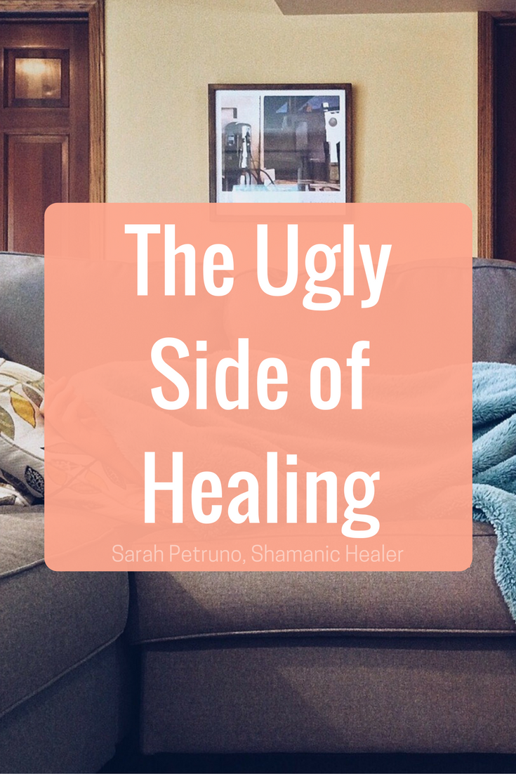 Detoxing and sick during or after healing? This post discusses why.