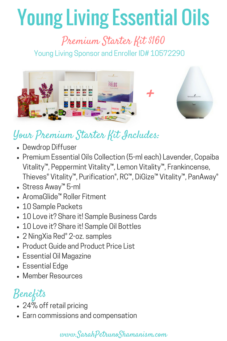 Young Living Premium Starter Kit - Included Oils and Benefits