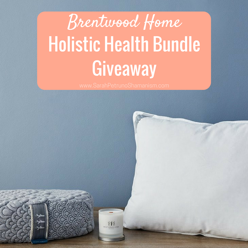 Brentwood Home Holistic Health Meditation Pillow, Candle, and Latex Pillow Review + Giveaway