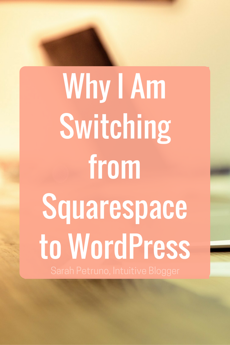 WordPress vs. Squarespace. Six reasons why I have decided to leave Squarespace for WordPress.