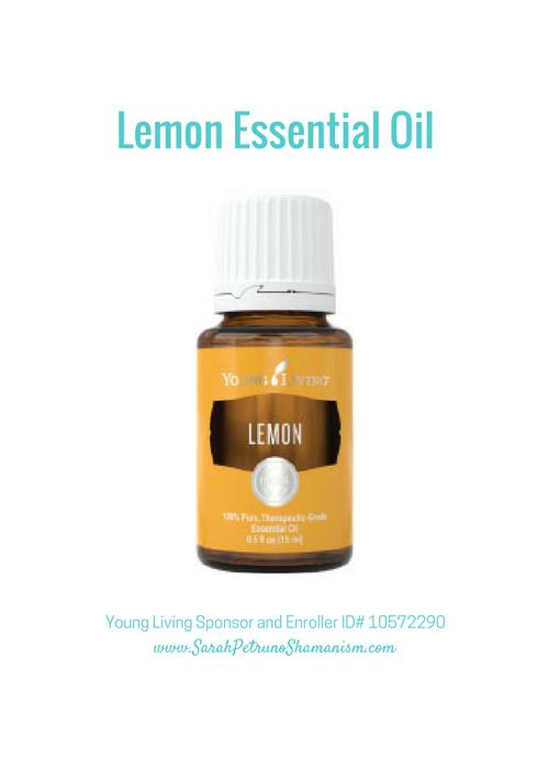 Lemon Essential oil for digestive health