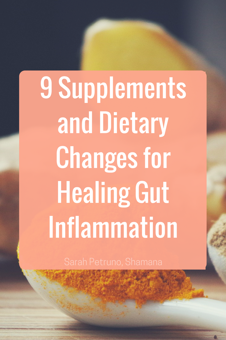 Supplements, Dietary Changes, Herbs, and Essential Oils for Healing Inflammation of the GI system - gallbladder, liver, stomach, pancreas