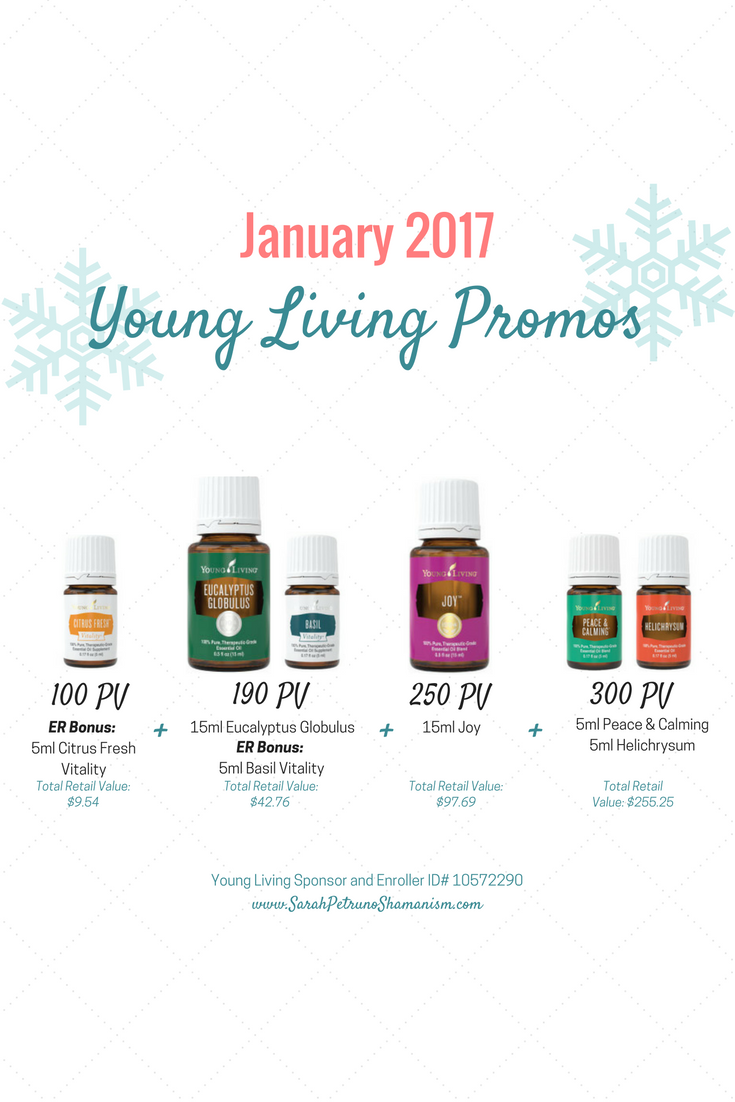 January 2017 Young Living Promotions