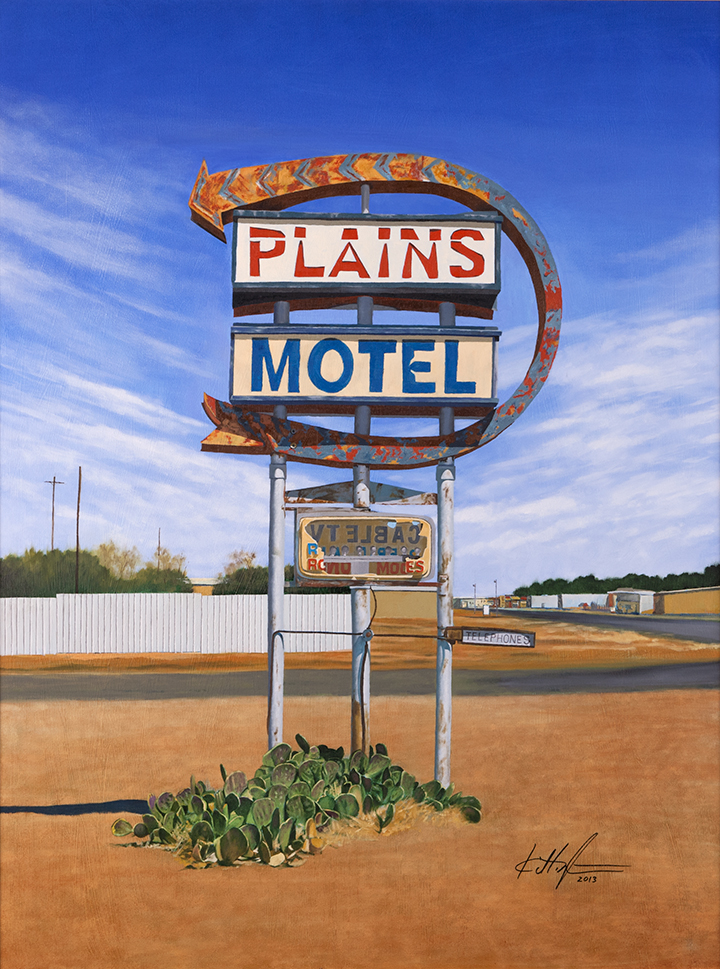 """Plains Motel"""