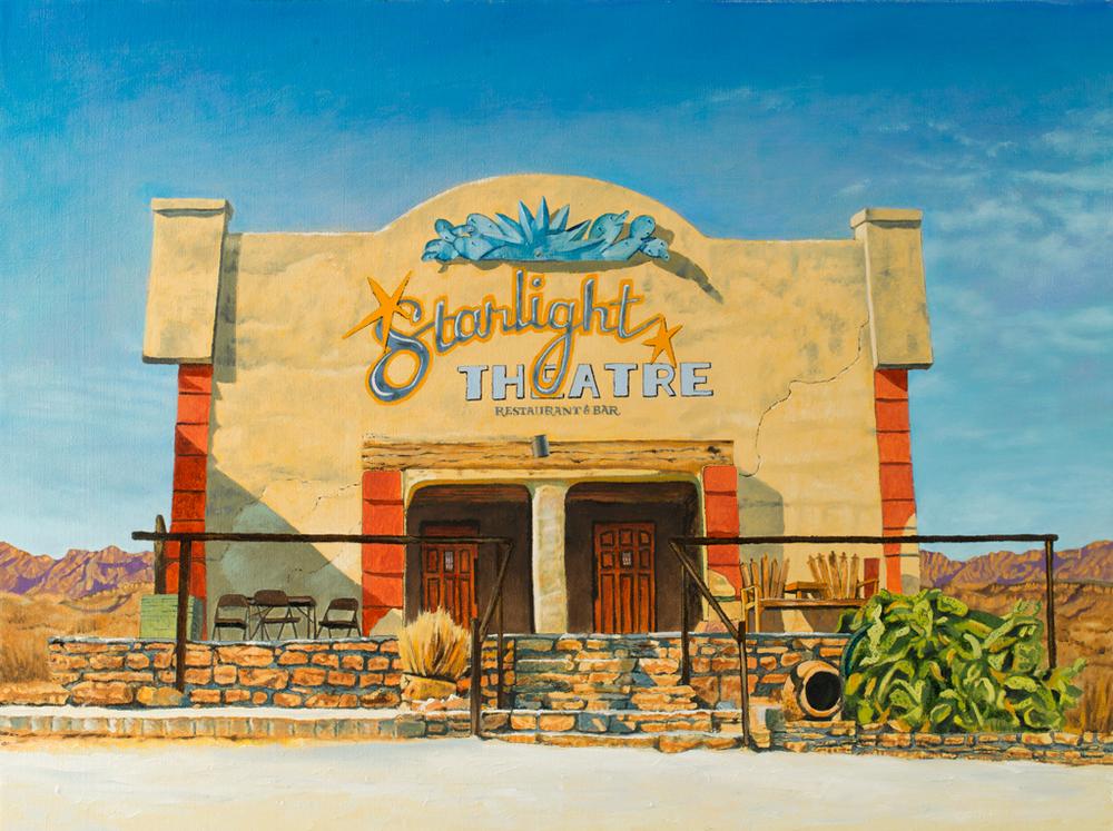 """""""Starlight Theatre, Terlingua, TX"""""""