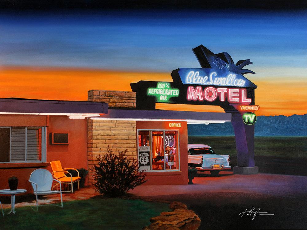 """""""Blue Swallow Motel"""""""