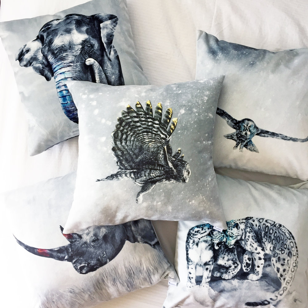 Scarce Pillow Prints