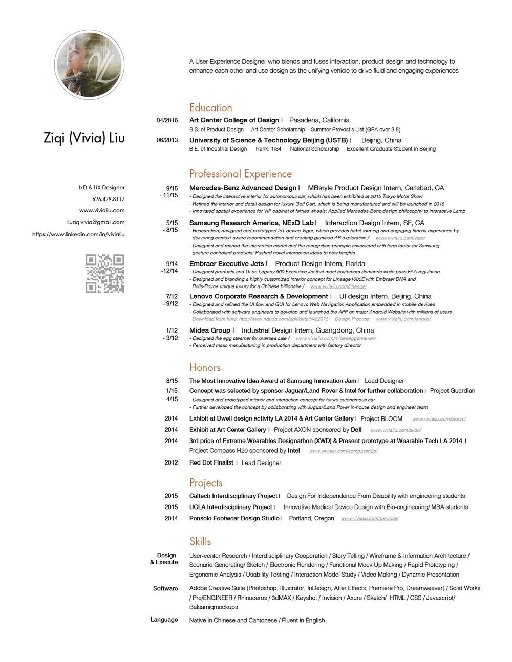 Interaction Designer Resume samples   VisualCV resume samples database Lewesmr Course Certificate