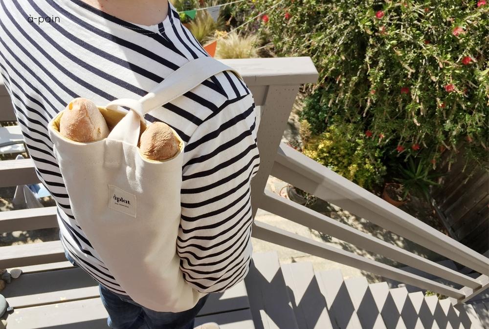 aplat baguette sling tote
