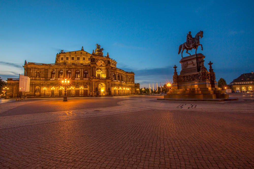 Theaterplatz and Semperoper