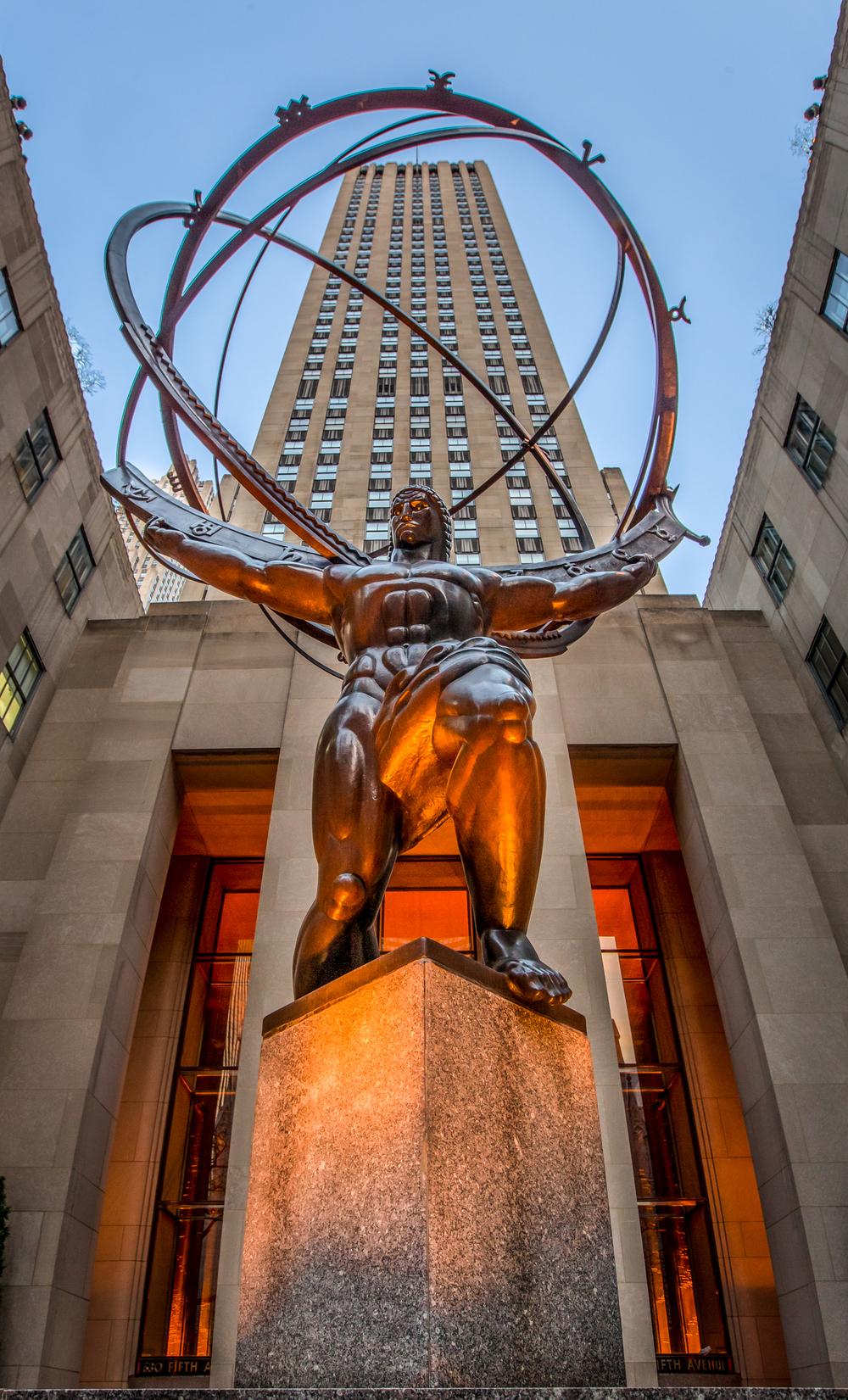 Atlas at Rockefeller Center, New York, NY
