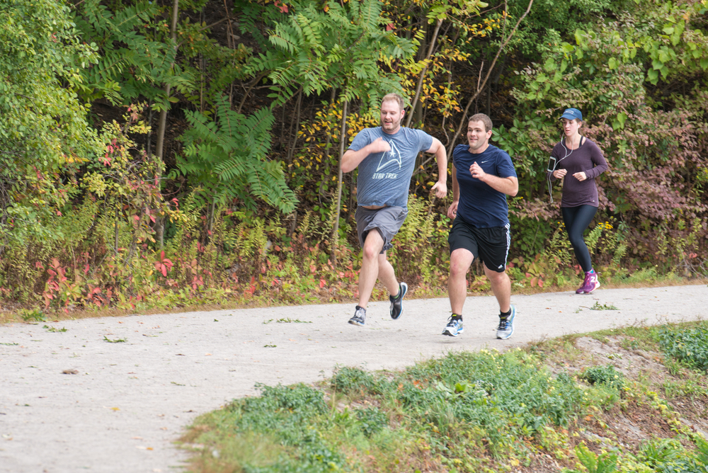 Alex and Eric sprint to the finish for a tie in October - who will win on November 8!?