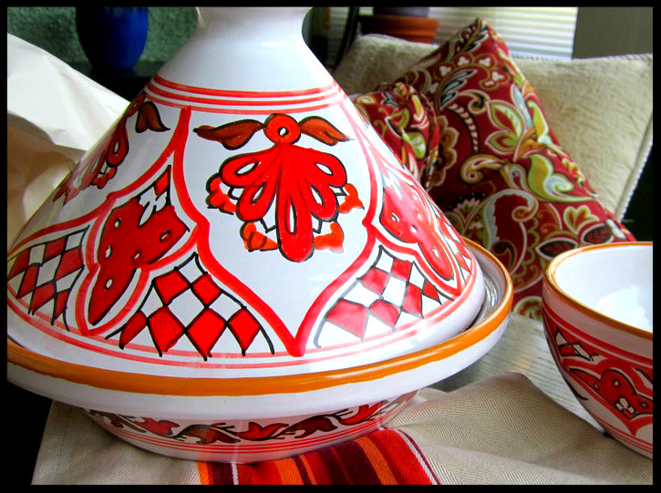 Tagines and cookware at Kishki World Foods