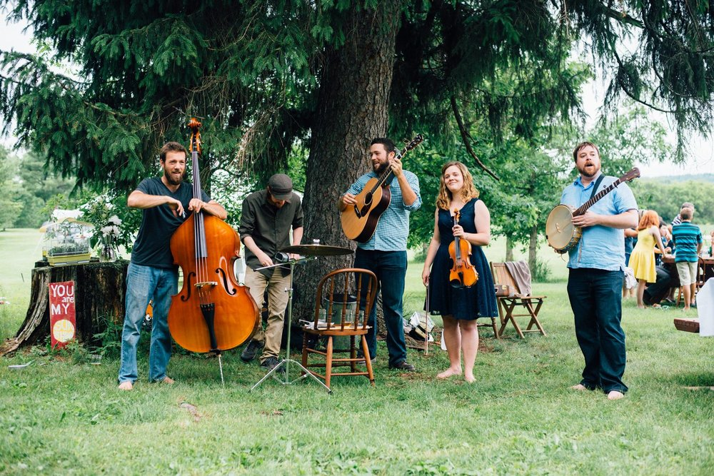 No Name String Band - 2:45 pmThe No Name String Band music collective distills the heart of old time fiddle music, jazz/funk improvisation, latin rhythms – with a dram of classical discipline – into their uniquely new time sound. The NNSB spins their own groove on light-footed and hard-driving barn dance tunes of the American south, while slowing down to explore more introspective original compositions.https://nonamestringband.com