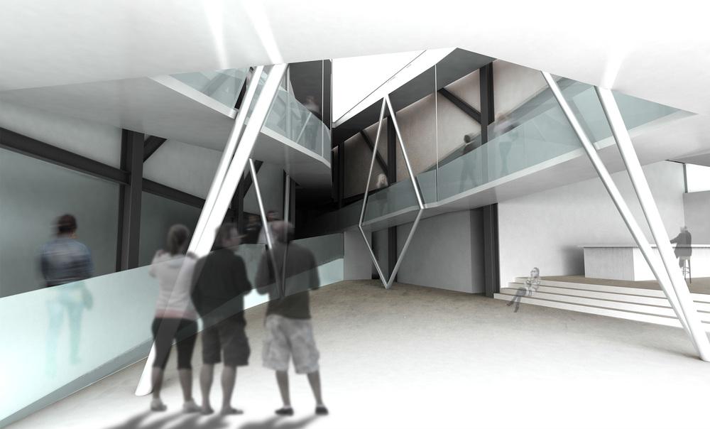 Lobby + Promenade Render
