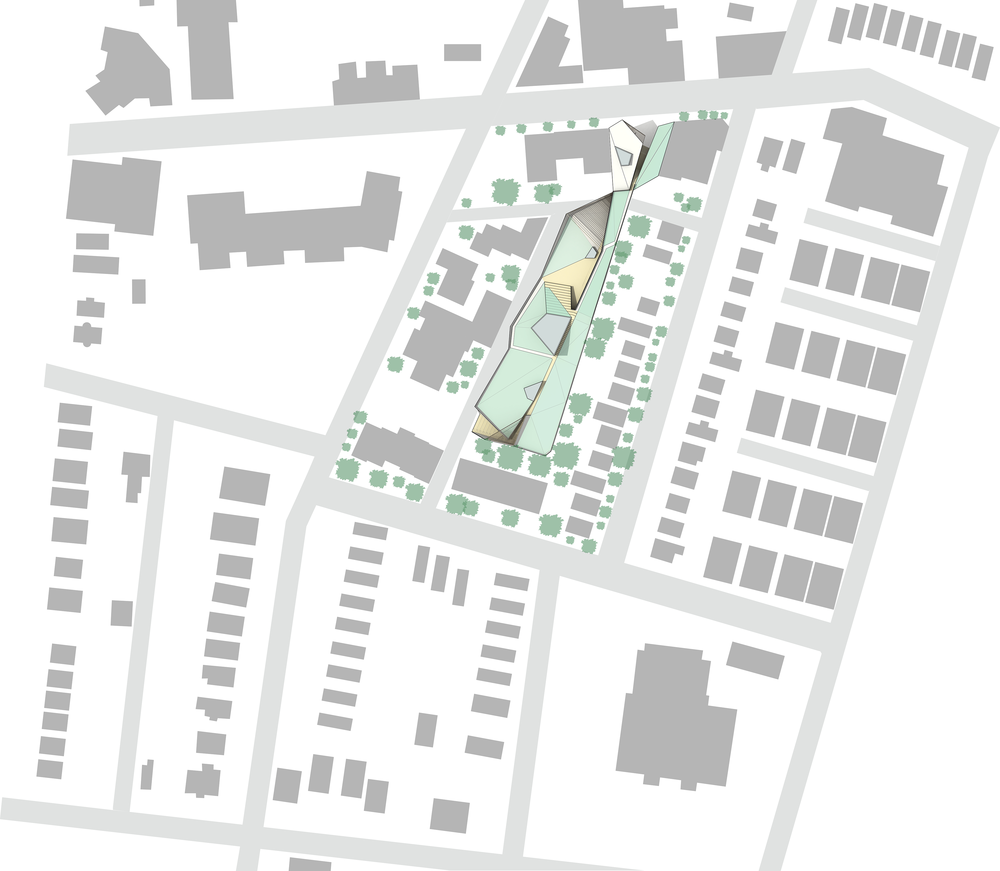 Site Plan showing context