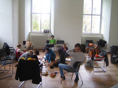 WHITE MARKET workshop, Akademie der Künste, Munich Oct 2009