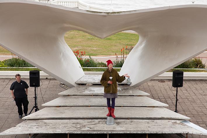 Dear Serge, De La Warr Pavilion - photo Emma Marshall