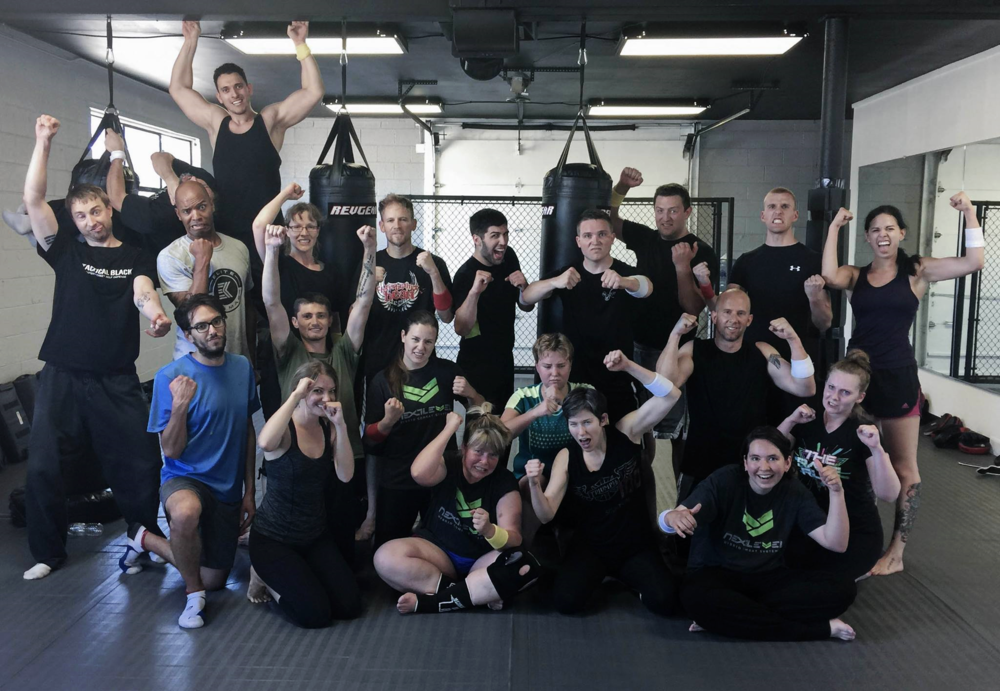 We have a super friendly and supportive environment that is NOT intimidating. We cater to beginners, and even though you will be mastering techniques that warriors in the special forces use, we have FUN and get you RESULTS!