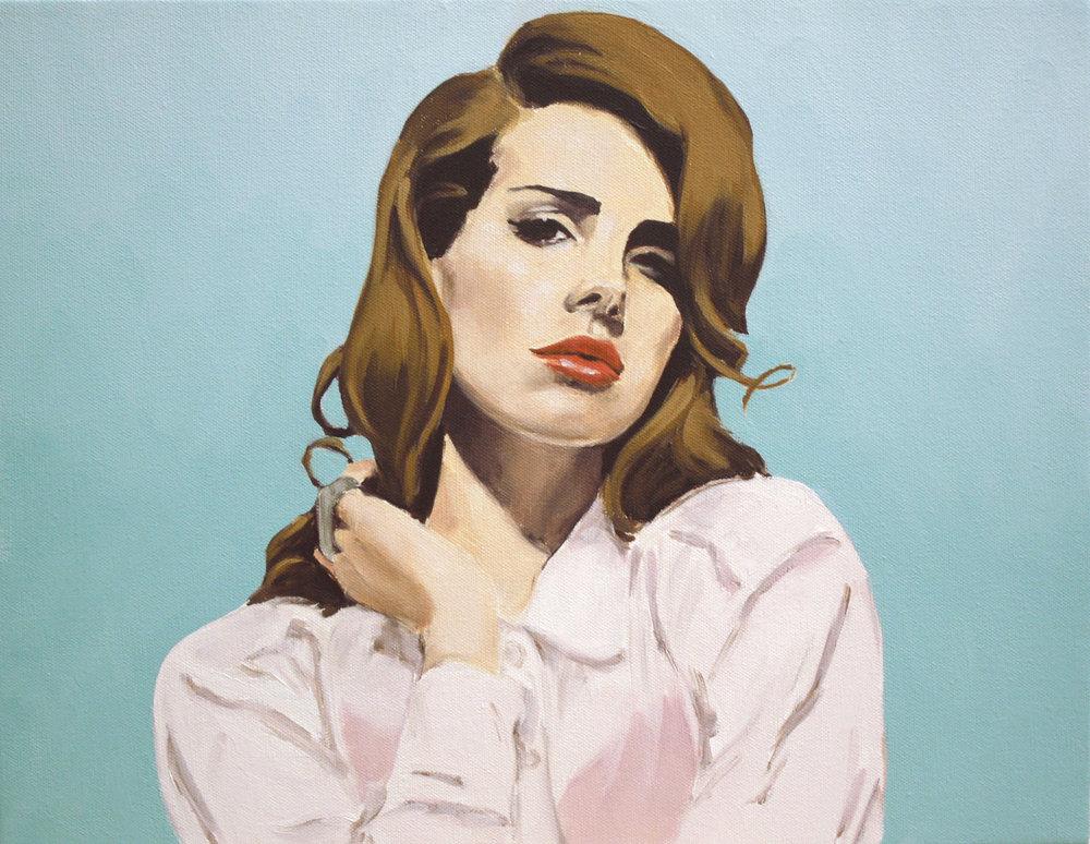Lana Slipping I