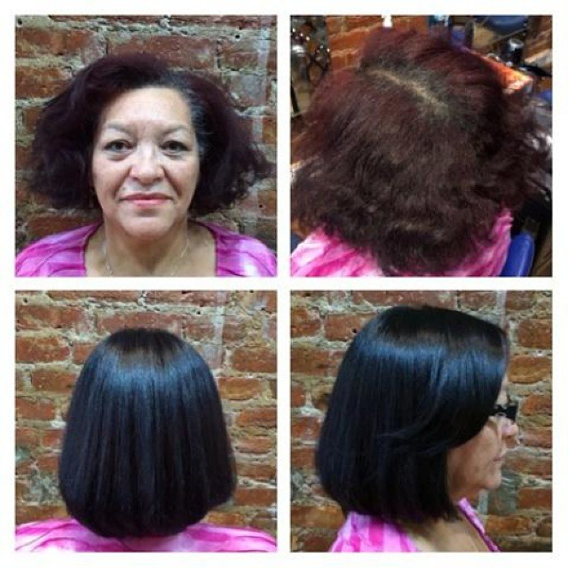 Another beautiful hair transformation at Franc Michael Salon by Paola!