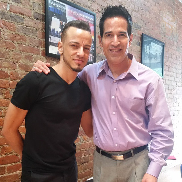 The new addition to the Franc Michael Team. Everybody meet sergio an incredible stylist from Miami!