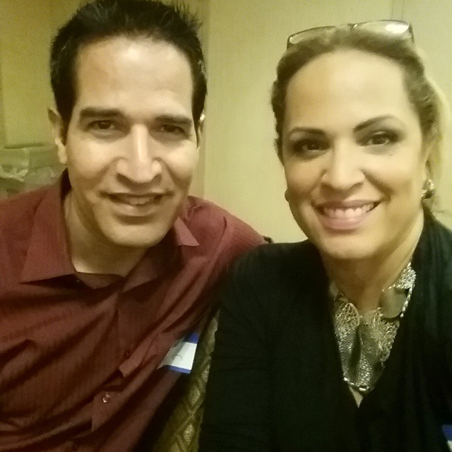 At The Market America distributor training at the Holiday Inn in New York with Emily Mahan!