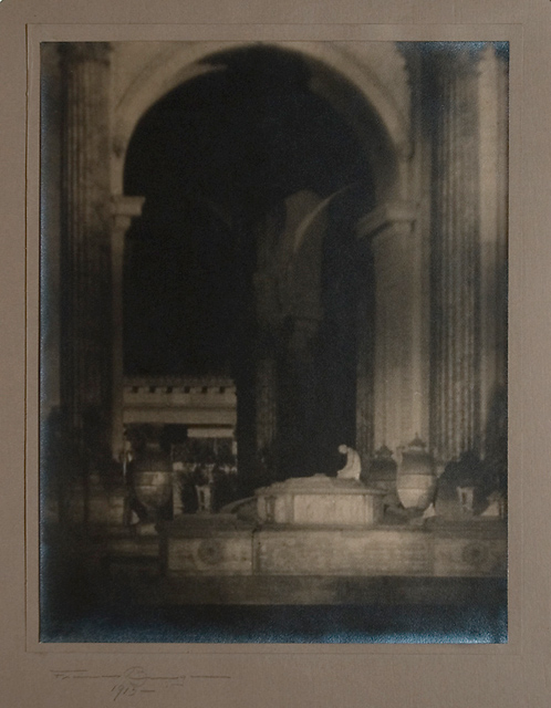 Altar: Palace of Fine Arts,   1915. Vintage Gelatin Silver Print. Image measures 13 1/2 x 10 1/2 inches. Inventory #C0943.  Terms  |  Inquire