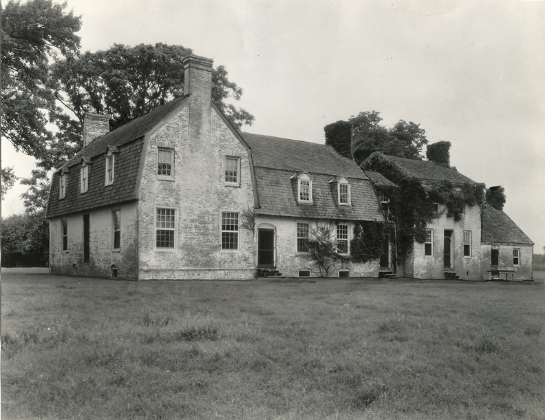 Otwell, Goldsborough Manor, Talbot County, Maryland, 1937. Vintage gelatin silver print.  Johnston's credit stamp on back. Image measures 7 1/4 x 9 7/16 inches. Inventory #C1458. Terms  |  Inquire